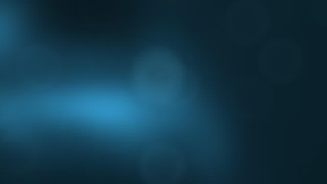 Defocused, blue, abstract background. Looping. video