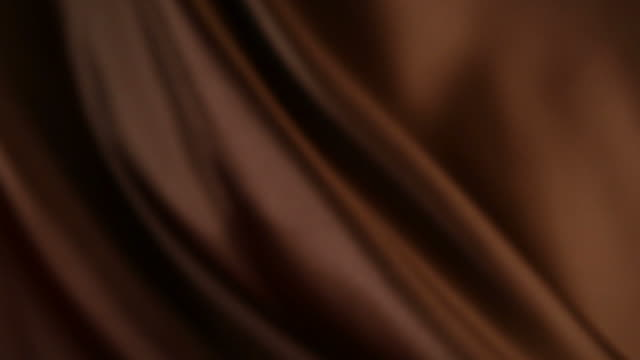 Defocused brown silk video