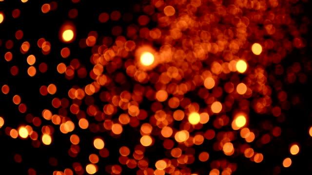 Defocused lantern Traditional Festival . video