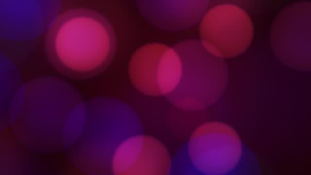 Defocused Lights Animation, HD Background Loop video