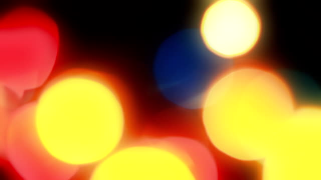 HD: Defocused Lights video