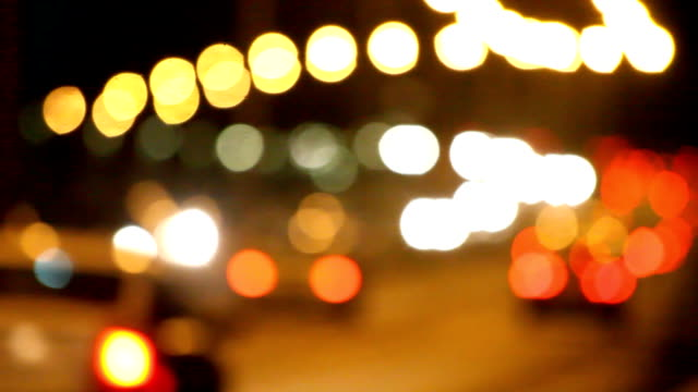 Defocused lights video