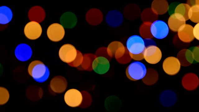stockvideo's en b-roll-footage met intreepupil verlichting - christmas lights