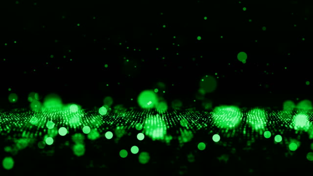 Defocused Particles Background (Loopable)