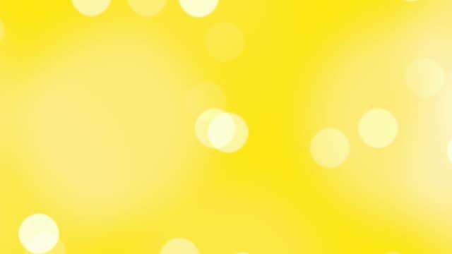 Videos de fondo amarillo y videos libre de derecho istock desenfocado partculas flotante en una excelente trabajo vdeo altavistaventures Choice Image