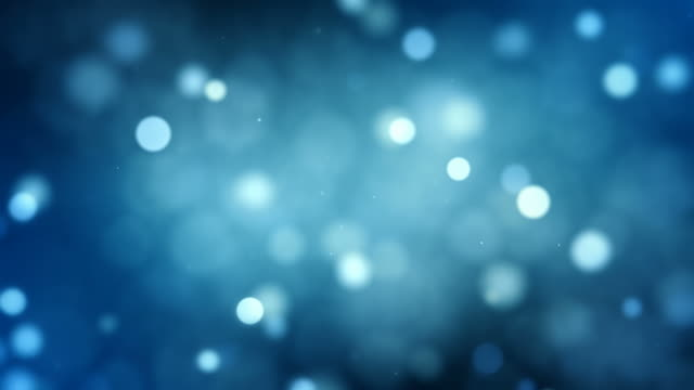 Defocused particles, Standard. Blue, Brown, Green. Loopable. video