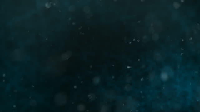 Defocused particles, Standard. Blue, Brown, Green. video