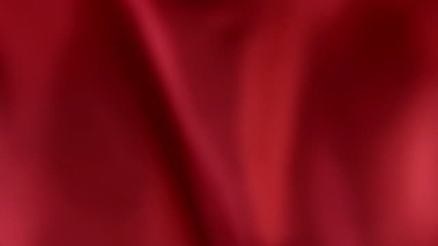 Defocused red silk video