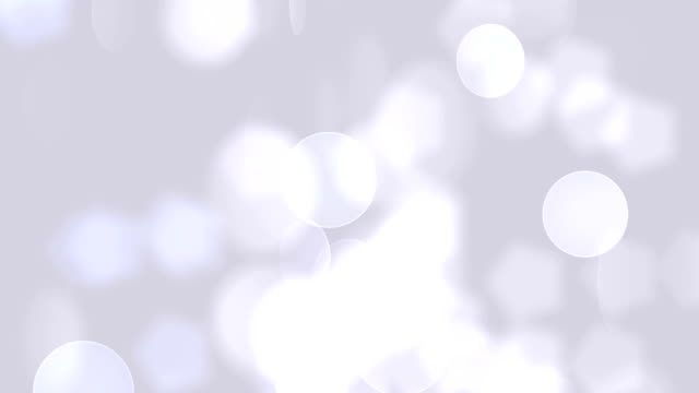 defocused soft particles (loopable) - 發光的 個影片檔及 b 捲影像