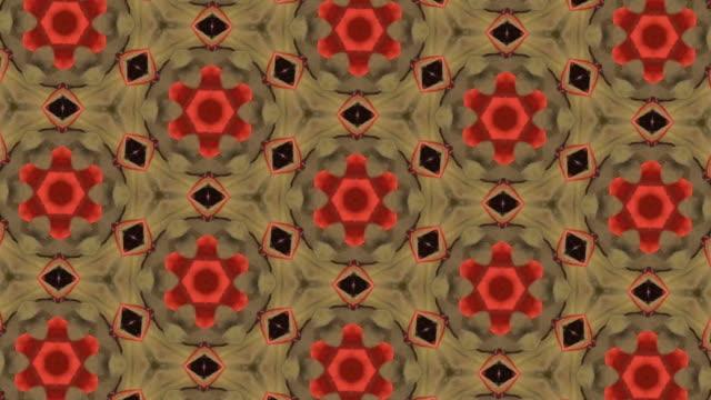 defocused , surreality abstract motion graphics - мандала стоковые видео и кадры b-roll