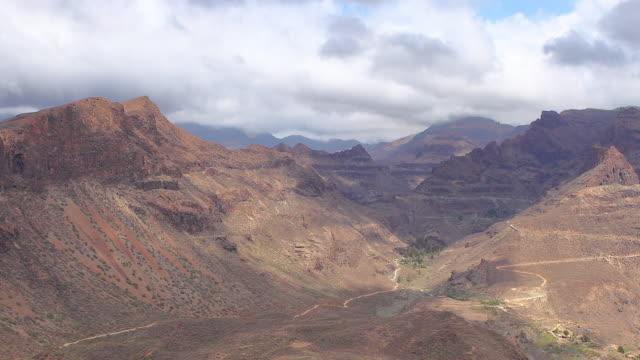 Degollada de las Yeguas views - Gran Canaria Time lapse