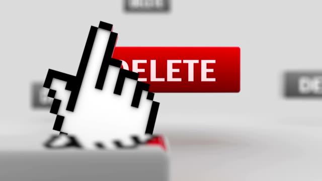delete. - offline bildbanksvideor och videomaterial från bakom kulisserna