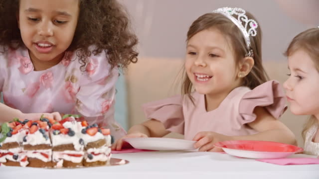 Stupendous Woman Jumping Out Of Cake Stock Videos And Royalty Free Footage Funny Birthday Cards Online Hetedamsfinfo
