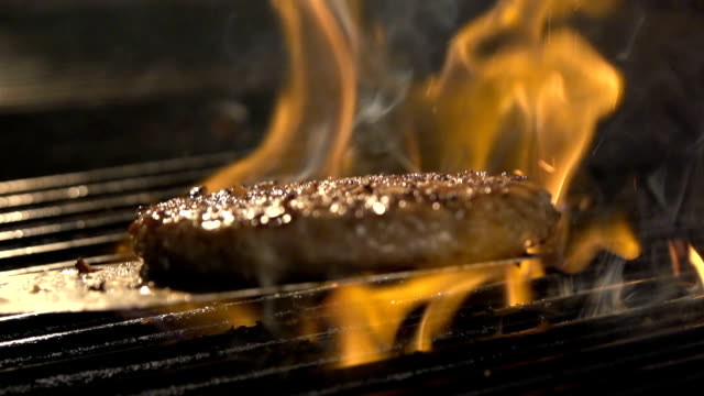 delicious fillet meat on the barbeque grill - meat stock videos and b-roll footage