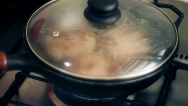 Delicious meal being prepared with three servings of red meat burgers as a protein source cooking hamburger steaks ground beef stock videos & royalty-free footage