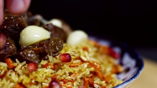 Delicious Rice Pilaf with Meat video