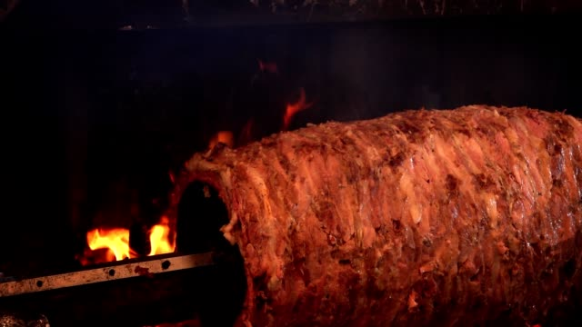 Delicious Traditional Turkish Doner Meat