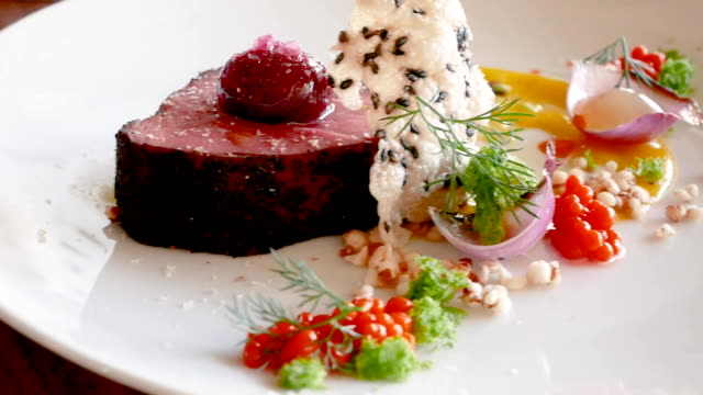 Delicious veal fillet video
