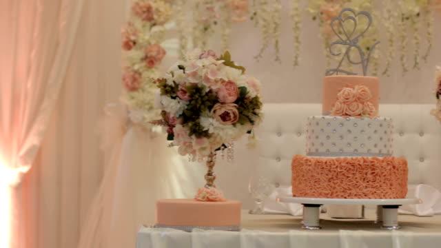 Delicious wedding reception