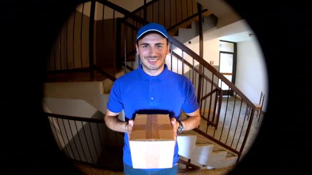 交付包 - postal worker 個影片檔及 b 捲影像