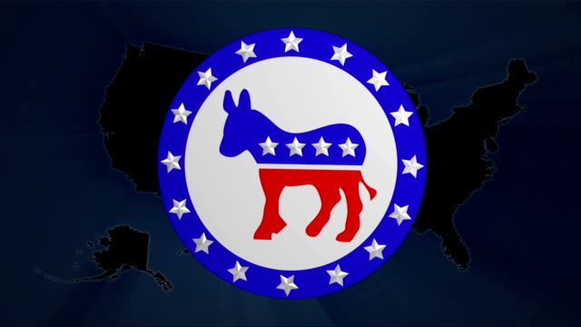 Democrats & Republicans Election Votes video