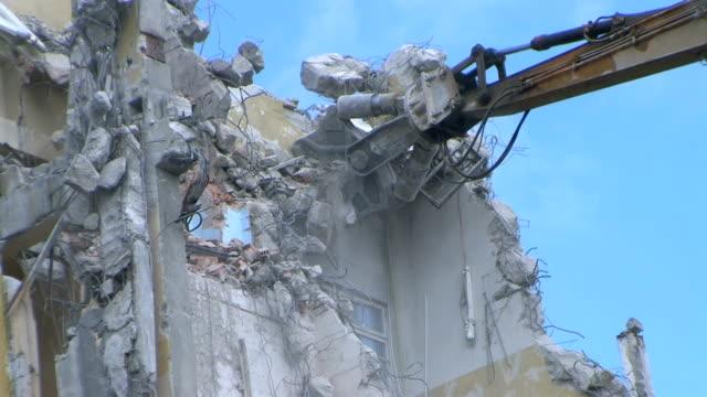 Demolishing video