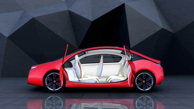 Demonstration of autonomous electric car video