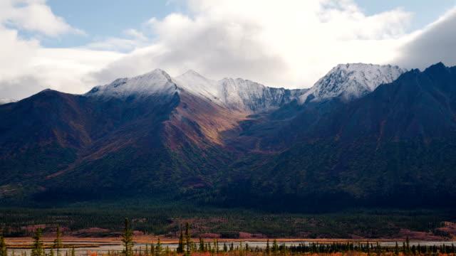 Denali Mountain landscape time lapse