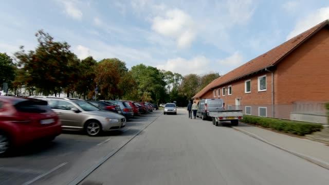 danmark maribo xxi synkroniserade serien bakifrån körning process skylt - hospital studio bildbanksvideor och videomaterial från bakom kulisserna