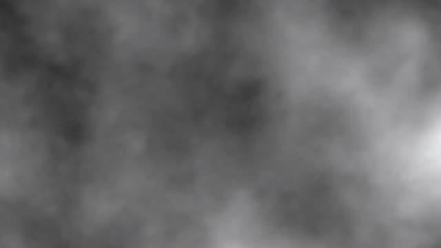 密な煙の背景を移動 - 蒸気点の映像素材/bロール