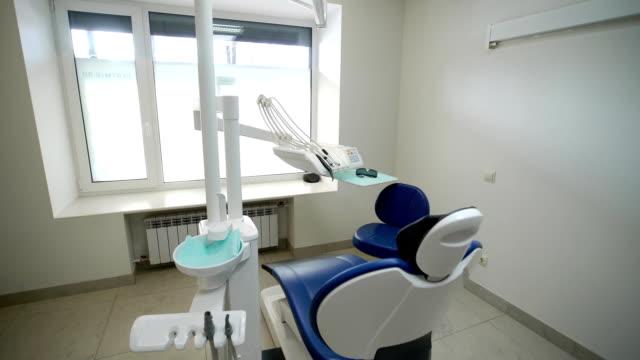 Dental chair in clinic video