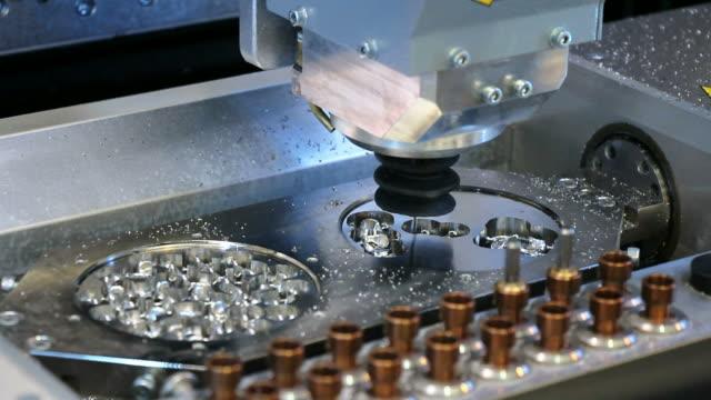 Dental CNC engraver video