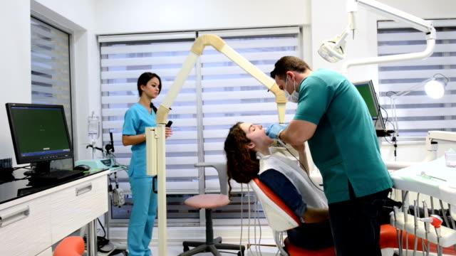 Dental x-ray process video