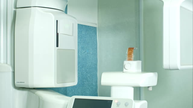 Dental X-Ray scanner in clinic video
