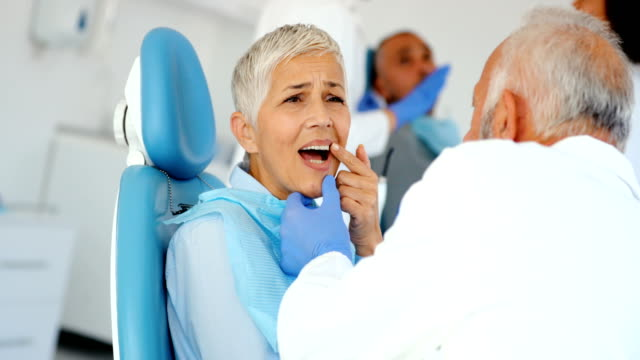dişçi randevusu. - diş sağlığı stok videoları ve detay görüntü çekimi