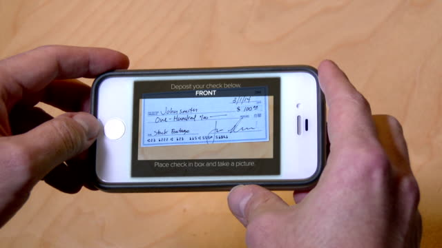 Deposit Check with Cell Phone video