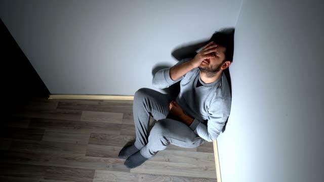 抑鬱症 - 絕望 個影片檔及 b 捲影像