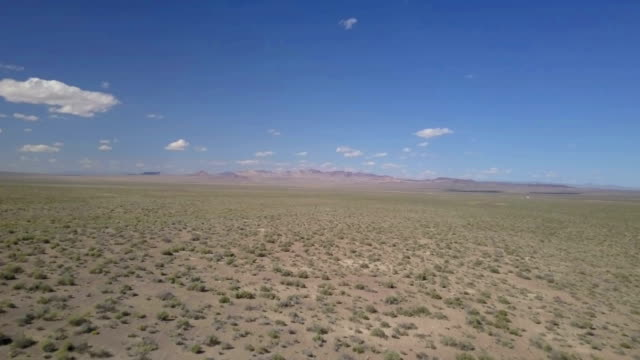 Desert Aerial footage video