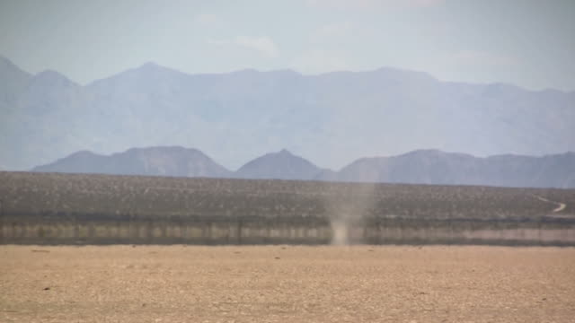 Desert dust devil (timelapse) video