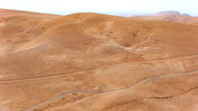 aerial desert in california, usa - desert stock videos & royalty-free footage