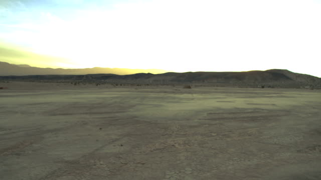 Desert Landscape at Dusk 01 video