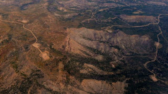 Desert Mountain Road Aerial, 4K video