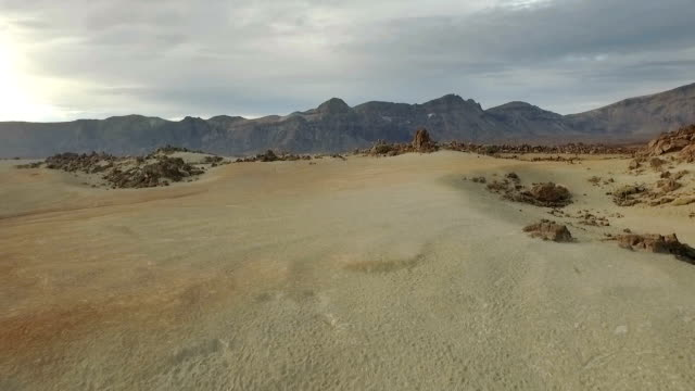 Desert on Mars. Dunes video