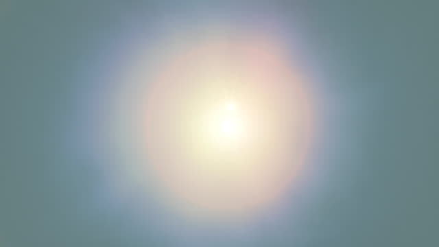 Desert Sun Looping Animation Looping animation of the sun at noon, white hot in humid environment shot from directly below. midday stock videos & royalty-free footage
