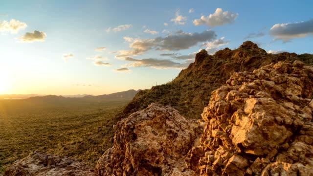 Desert Valley Sunset Timelapse/Hyperlapse - Panning Motion