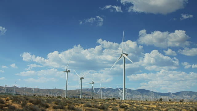 Desert Wind Farm video