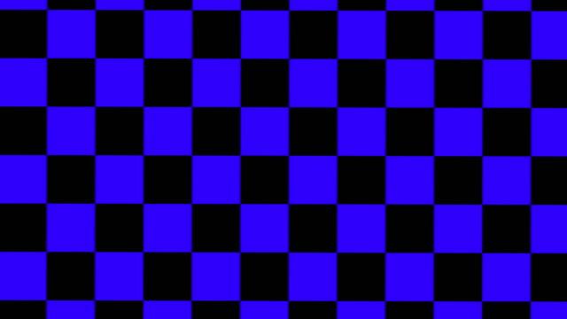 design schwarz und blau gekreuzelt rotiert. - karo stock-videos und b-roll-filmmaterial