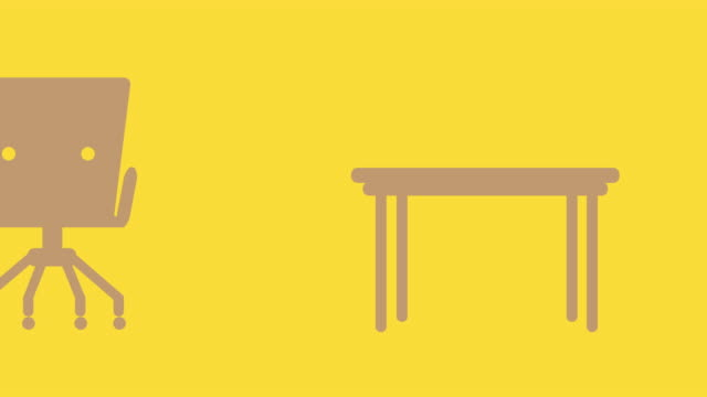 Desk animation