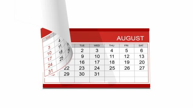 Calendario de escritorio con canal alfa INCLUIDO - vídeo