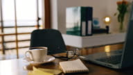 istock DS Desk ready for working from home during self isolation time 1218943743